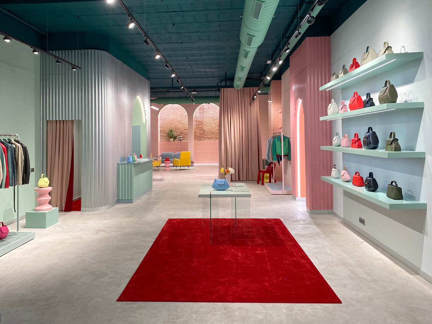 Creativity and innovation in the process of creating the Mietis flagship fashion store